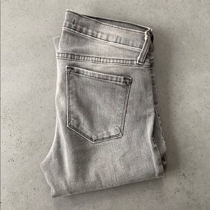 Flying monkey grey distressed jeans